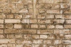 Oude grungy textuur, grijze bakstenen muur Stock Afbeeldingen