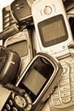 Oude GSM telefoon Stock Foto's