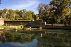 Oude hacienda Stock Foto's