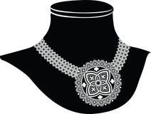 Oude halsband vector illustratie