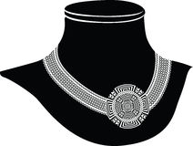 Oude halsband royalty-vrije illustratie