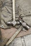 Oude hamers royalty-vrije stock foto
