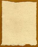 Oude Hand - gemaakt Document Royalty-vrije Stock Foto's