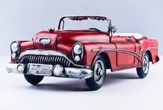 Oude hand - gemaakte auto Stock Foto