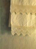 Oude handdoek Stock Foto's