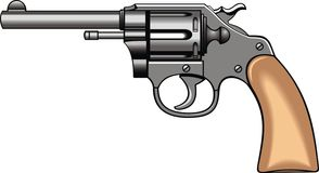 Oude handkanon (pistool) Royalty-vrije Stock Foto's