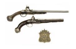 Oude handkanonnen Royalty-vrije Stock Foto's