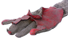 Oude handschoen Royalty-vrije Stock Foto's