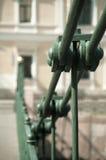 Oude Hangbrug stock afbeelding