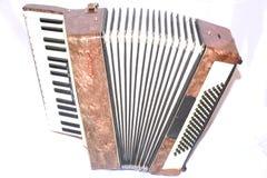 Oude harmonika stock fotografie