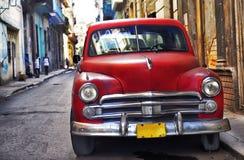 Oude Havana auto Stock Afbeelding