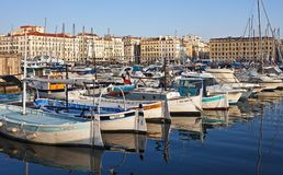 Oude Haven, Marseille Royalty-vrije Stock Fotografie