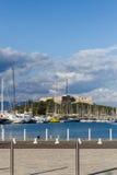 Oude Haven van Antibes Royalty-vrije Stock Afbeeldingen