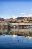 Oude haven van Genua Stock Afbeeldingen
