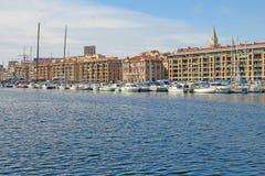Oude haven van Marseille royalty-vrije stock afbeelding