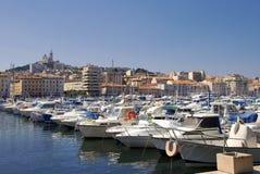 Oude haven van Marseille Stock Afbeelding