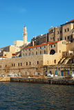 Oude haven Yaffo stock foto