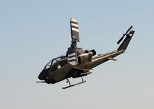 Oude helikopter Stock Foto's