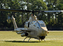 Oude helikopter Royalty-vrije Stock Foto