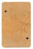 Oude het document van de grungespeelkaart achtergrond royalty-vrije stock afbeelding