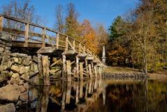 Oude het noordenbrug Stock Foto