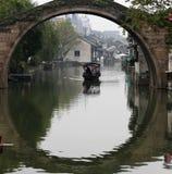 Oude het waterstad van China Royalty-vrije Stock Afbeelding