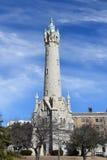 Oude het watertoren van Millwaukee Wisconsin Royalty-vrije Stock Foto