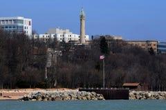 Oude het watertoren van Millwaukee Wisconsin Royalty-vrije Stock Fotografie