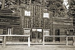 Oude het westenopslag Stock Afbeelding