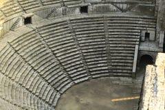 Oude historische arenaminiatuur Stock Afbeelding