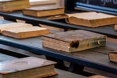 Oude historische boeken Royalty-vrije Stock Afbeelding