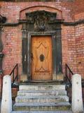 Oude historische deur Stock Afbeelding