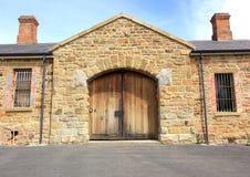 Oude historische gevangenis Stock Afbeeldingen