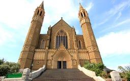 Oude historische kathedraalkerk Stock Afbeeldingen