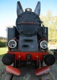 Oude, historische stoomtrein stock afbeelding