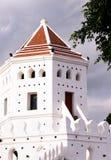 Oude historische vesting in Bangkok royalty-vrije stock afbeelding
