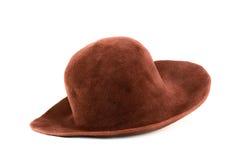 Oude hoed Royalty-vrije Stock Foto's