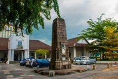 Oude Hof woningbouw in Kuching Hof Complexe het Huis werd gebouwd in 1871 als zetel van de overheid van Sarawak ` s maleisië born Stock Fotografie