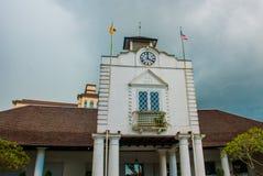 Oude Hof woningbouw in Kuching Hof Complexe het Huis werd gebouwd in 1871 als zetel van de overheid van Sarawak ` s maleisië born Stock Afbeeldingen