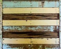 Oude houten achtergrond Royalty-vrije Stock Afbeeldingen