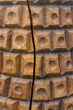 Oude houten achtergrond Stock Afbeeldingen