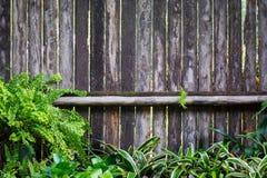 Oude houten achtergrond Stock Afbeelding