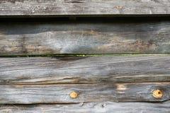 Oude houten achtergrond Close-upomheining De textuur van de houten omheining royalty-vrije stock fotografie