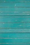 Oude houten achtergrond in groene of turkooise kleur royalty-vrije stock afbeelding