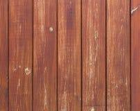 Oude houten achtergrond met verticale raad Stock Foto