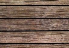 Oude houten achtergrond Natuurlijke houten textuur met horizontale lijnen Stock Foto