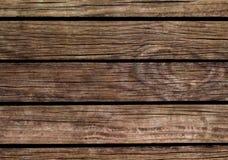 Oude houten achtergrond Natuurlijke houten textuur met horizontale lijnen Stock Afbeeldingen