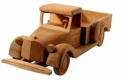 Oude houten auto Stock Fotografie