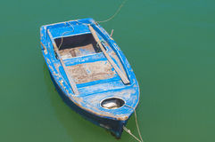 Oude houten boot Royalty-vrije Stock Afbeelding