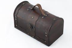 Oude houten borst Royalty-vrije Stock Afbeeldingen